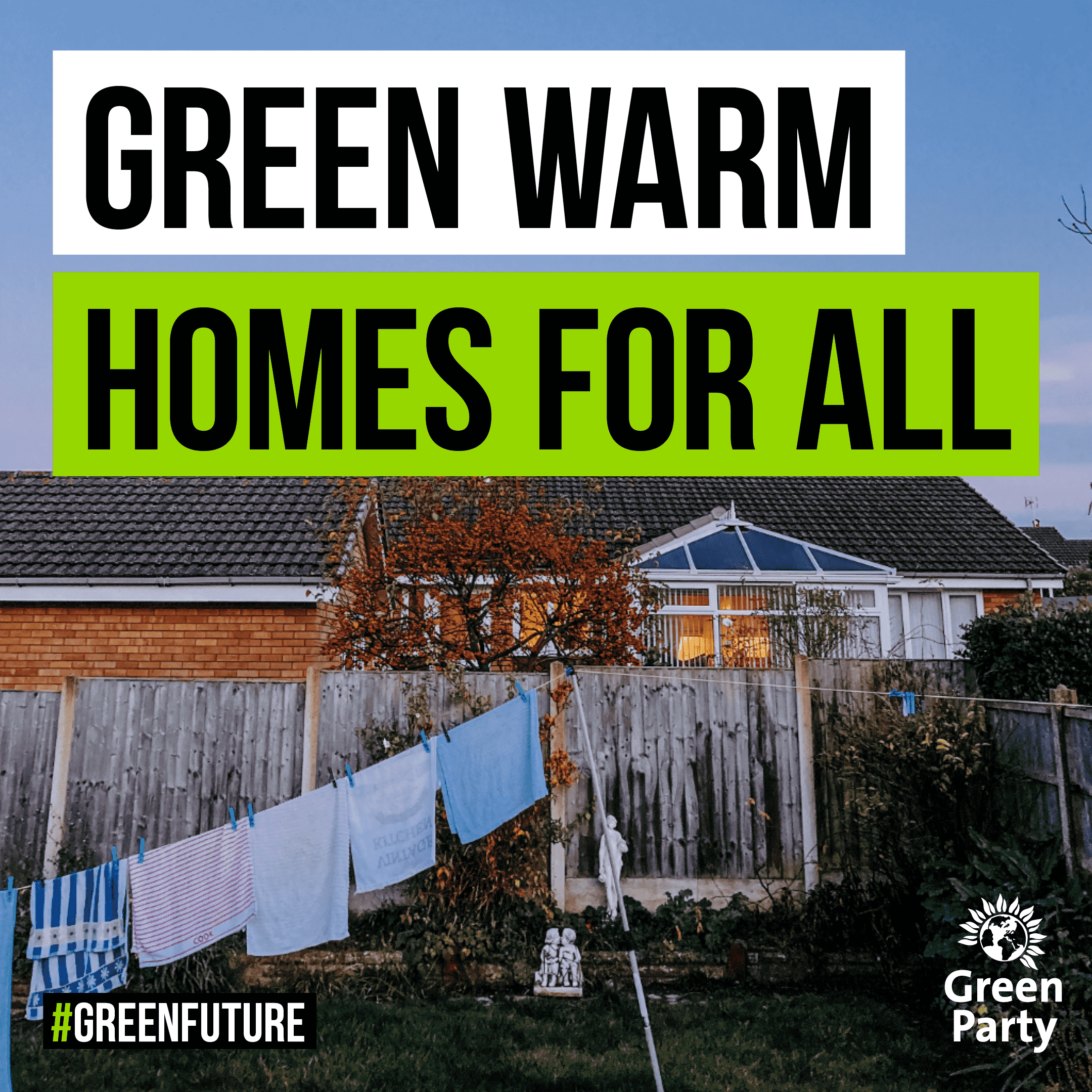 Green, Warm Homes For All - Header